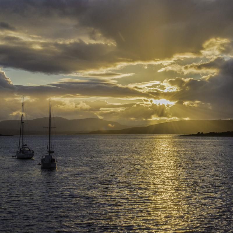 Scozia - Tramonto ad Oban