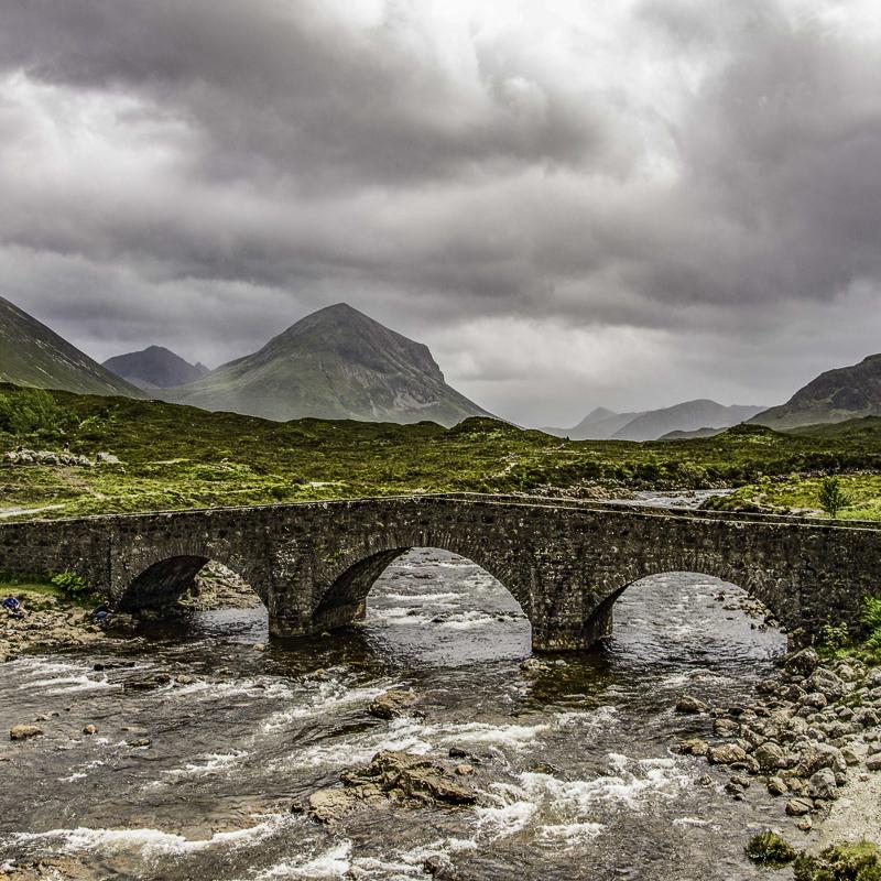 Scozia - Ancora lo Sligachan