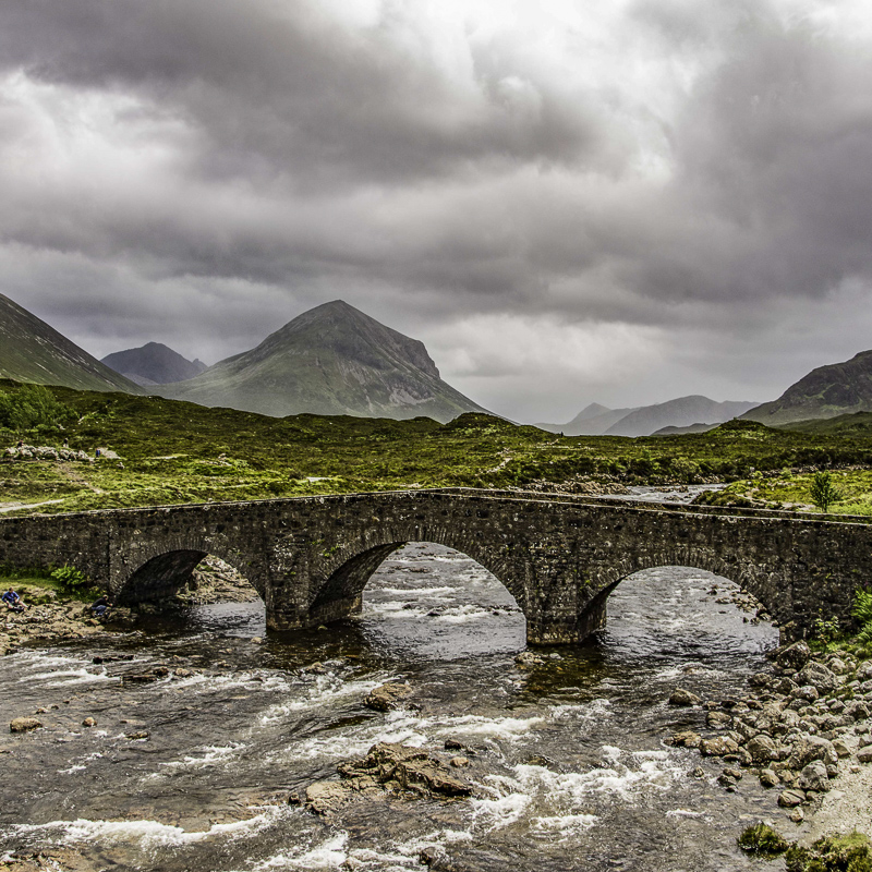 Scozia - Sligachan Birdge su Skye