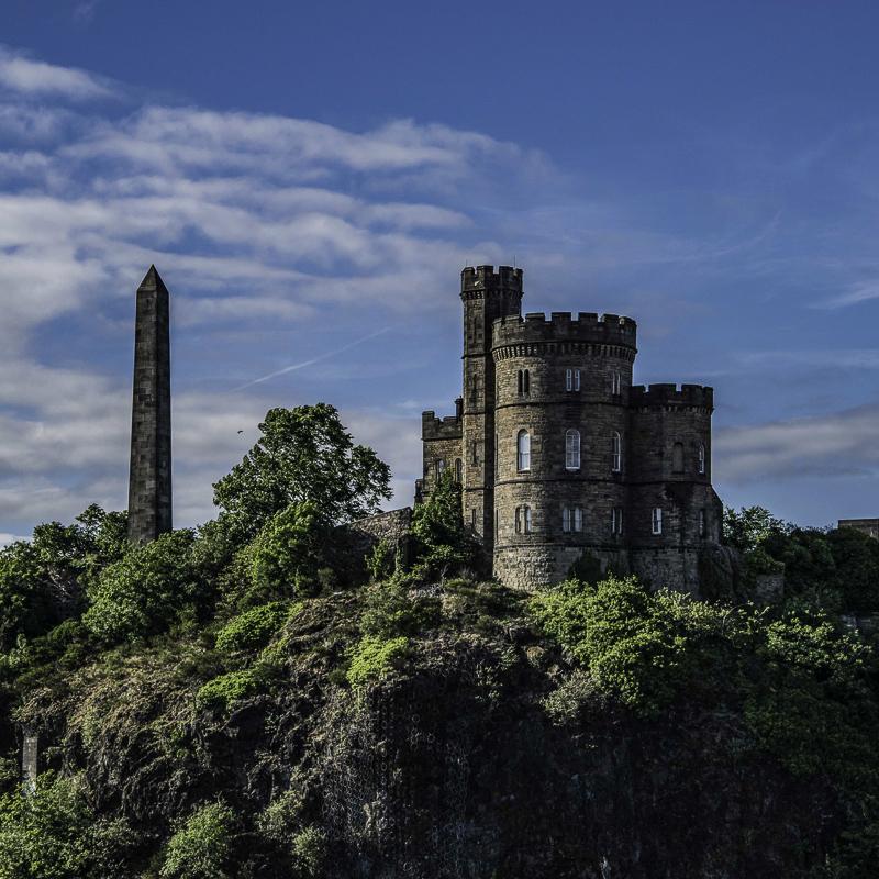 Scozia -Vista di Calton Hill