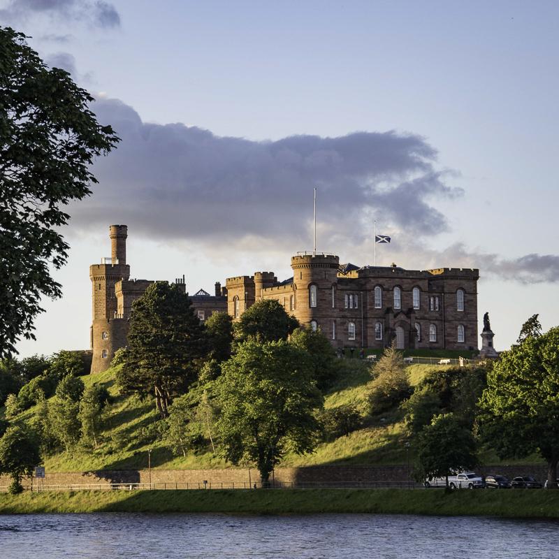 Scozia - Castello di Inverness