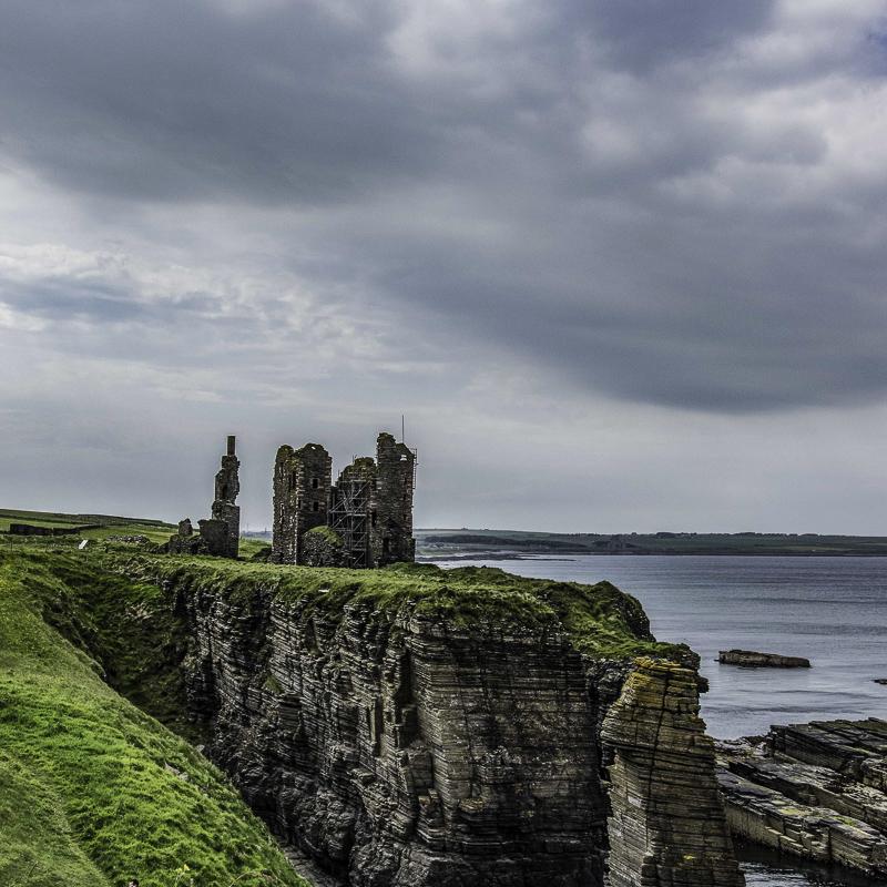 Scozia - Castle Sinclair a Wick