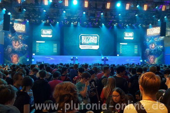 Blizzard-Bühne auf der Gamescom 2017