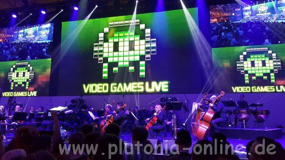 Konzert von Video Games Live auf der Blizzard-Bühne