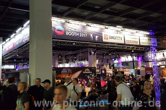 Die Indie-Arena auf der Gamescom 2017