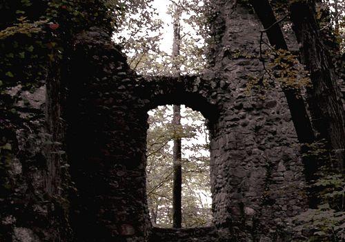 Burg Weißwasserstelz bei Hohentengen