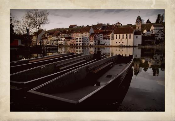 Rhein in Eglisau (CH)
