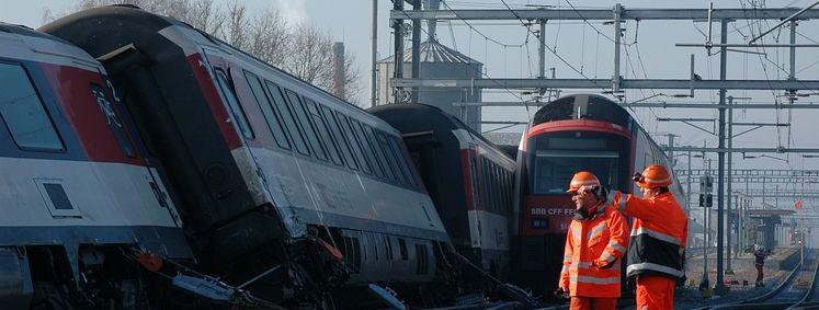 Zugunglück Rafz (CH) Januar 2015