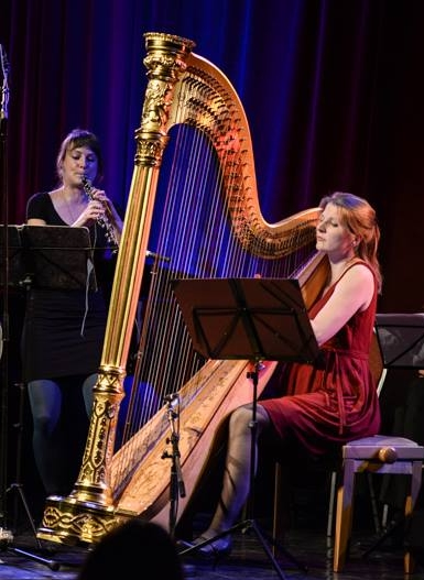 Duo Harbois: Sandra Schumacher (Oboe), Johanna Welsch (Harfe)