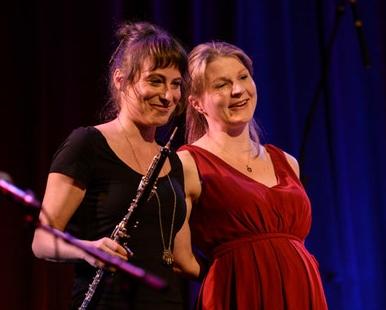 Duo Harbois: Sandra Schumacher (Oboe) Johanna Welsch (Harfe)