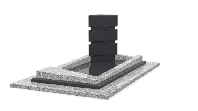 monuments en acier desing originaux marbrerie sofunair. Black Bedroom Furniture Sets. Home Design Ideas