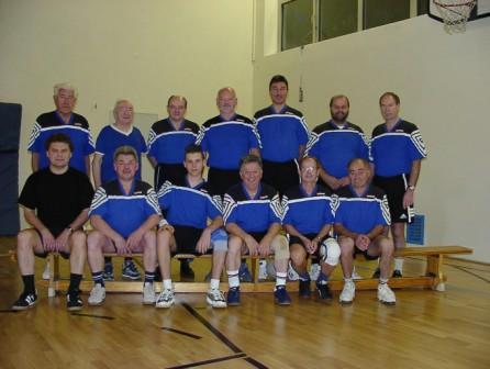 Die zweite Mannschaft – nicht weniger erfolgreich – in der Landesliga.