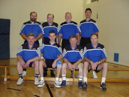 Die erste Mannschaft spielt sehr erfolgreich in der Bayernliga.