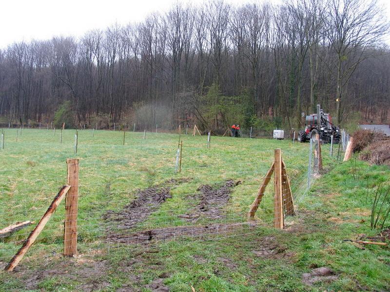 Der Zaun um unsere Streuobstwiese