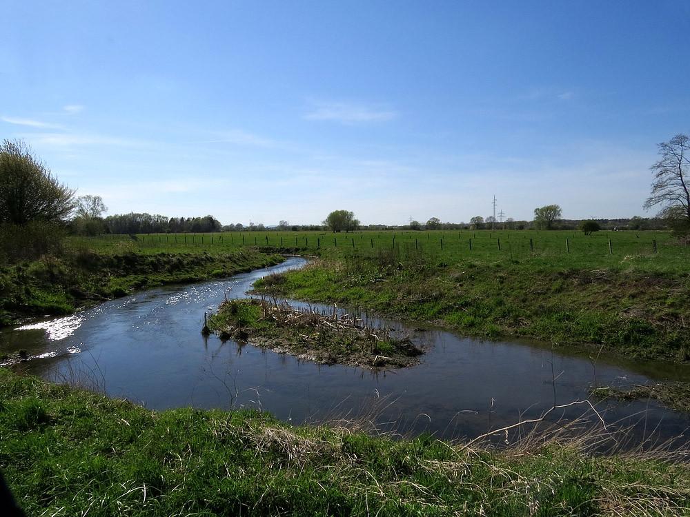 Die Bückeburger Aue in der zentralen Niederung