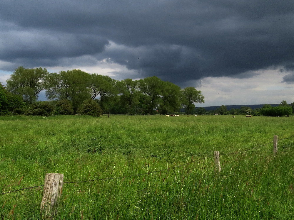 Drohende dunkle Wolken: Der Sommer geht zu Ende.