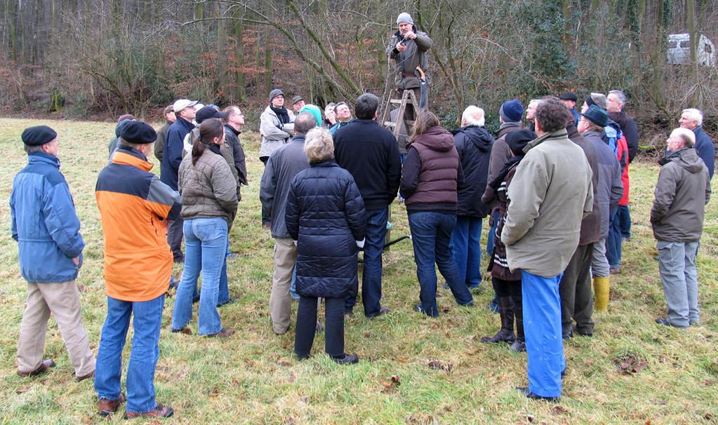Viele Interessenten kamen aus Bückeburg, um zu lernen