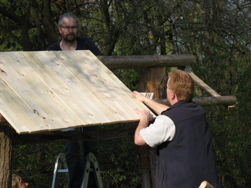 Die Unterkonstruktion des Daches