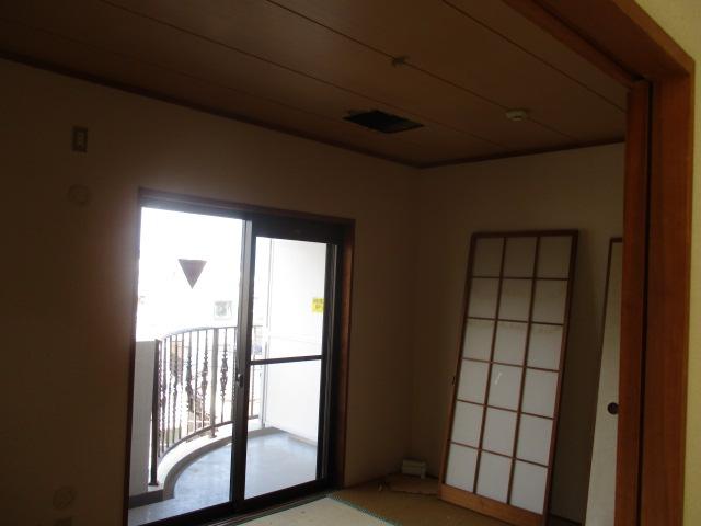 解体前の和室
