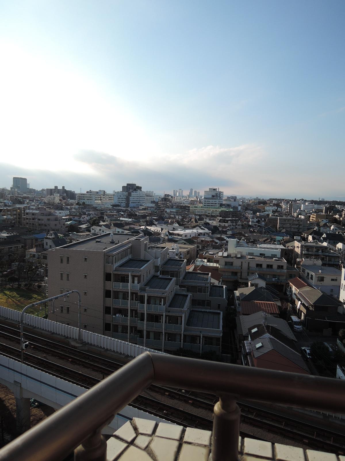 バルコニーからの眺望その1