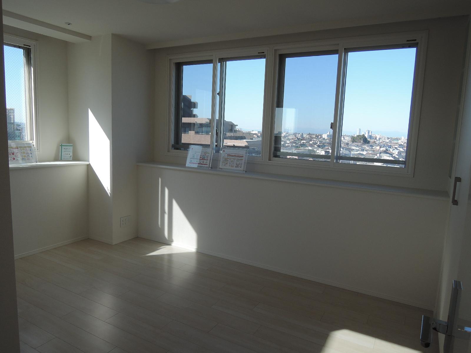 全ての居室に窓があり、明るいです