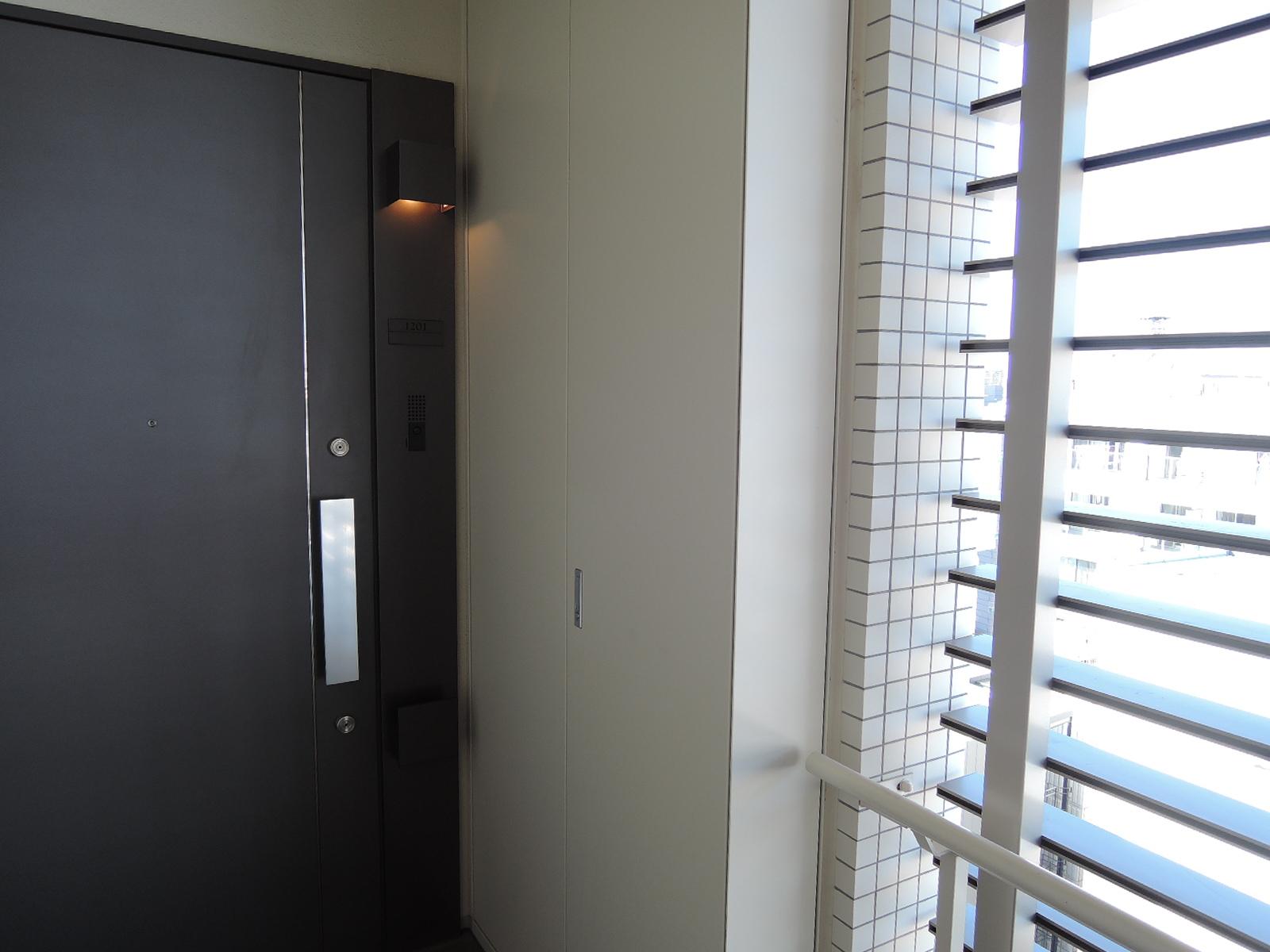 お部屋は12階