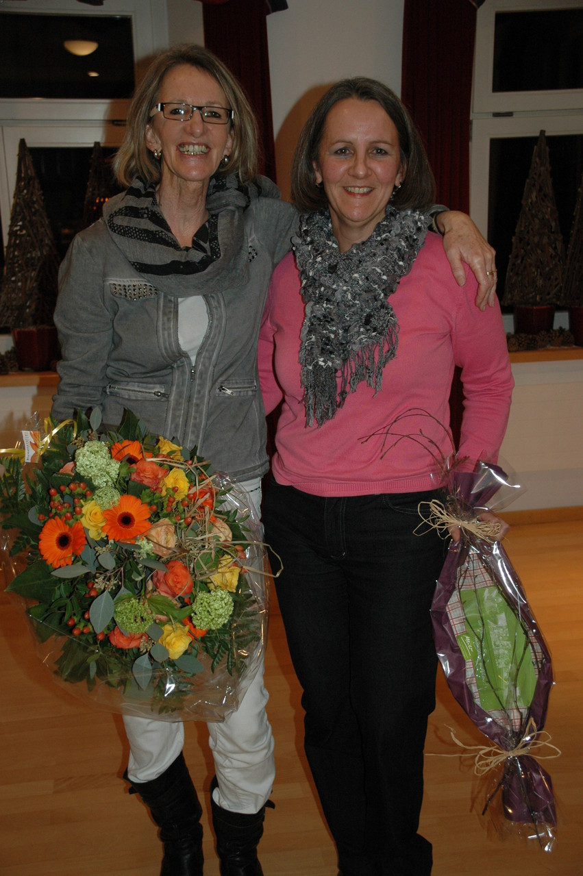 Ehrenmitglieder: Lydia Eichmann u. Cornelia Bertschinger