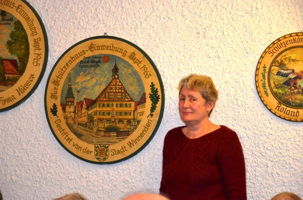 Weihnachtsfeier Tafel Winnenden Dez. 2017 im Schützenhaus