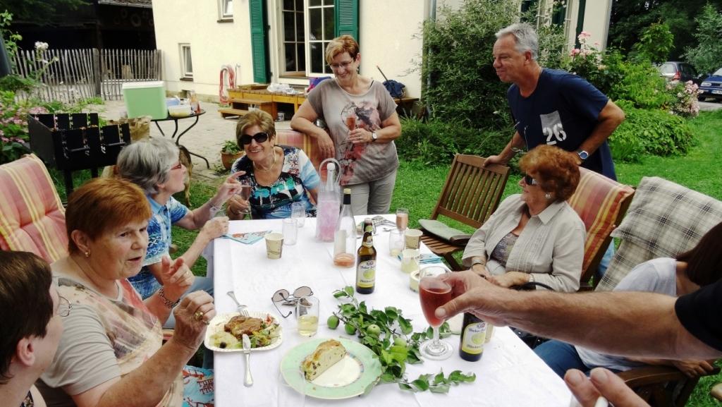 Spaß und Leckeres beim Gartenfest 2016 des Tafelladenteams