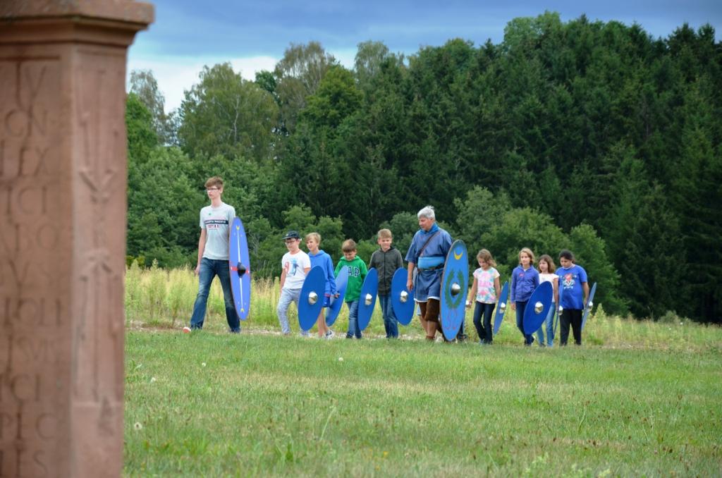 Erlebnistag bei den Römern am Ostkastell Welzheim