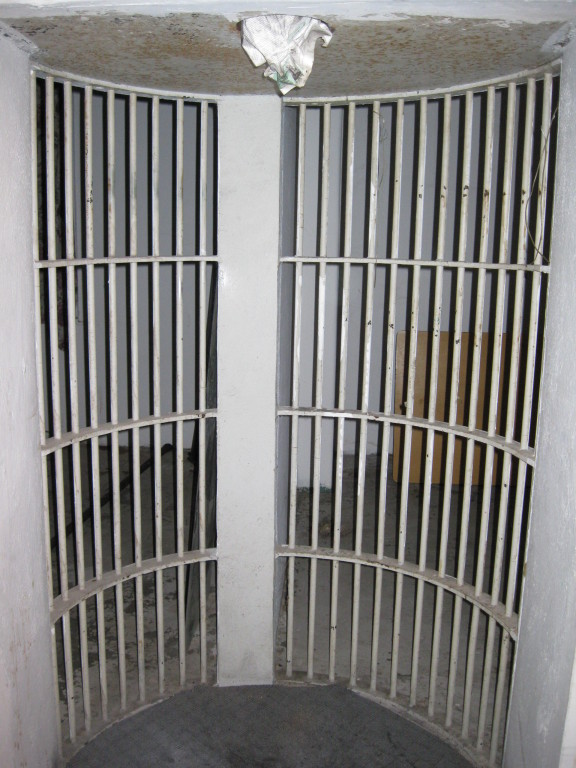 2nd floor jail cell
