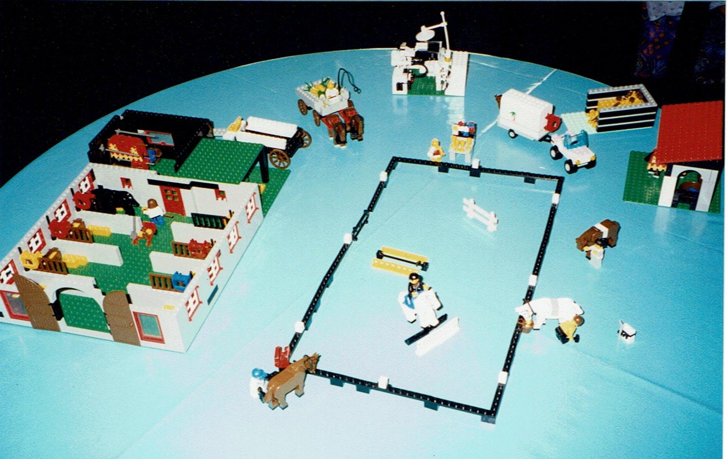 auch beim Legospielen gab es für mich nur ein Thema