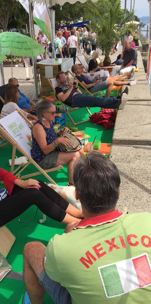 Stand der Freunde beim Promenadenfest 2018