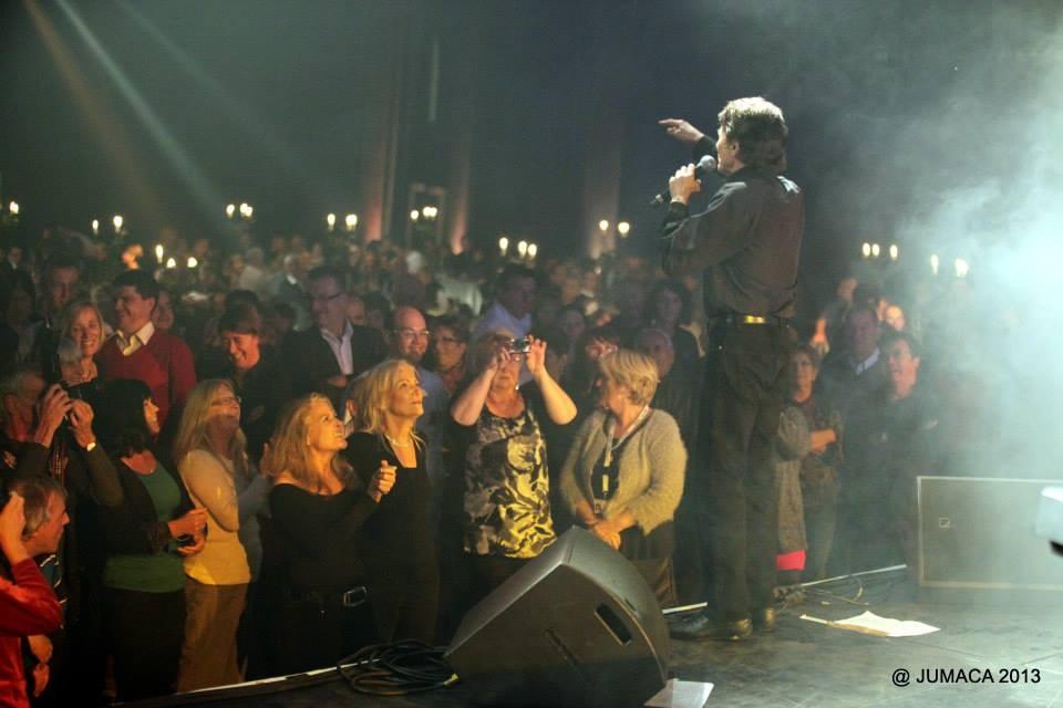 Michel Orso devant ses Fans