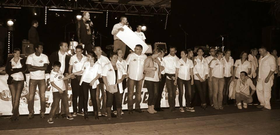 L'équipe des Bénévoles de l'association JUMACA