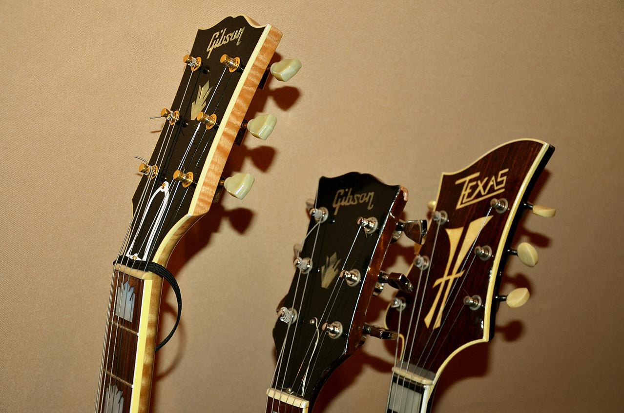 Les guitares