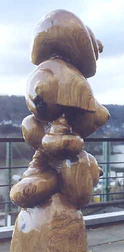 Schneckenturm /250x100 cm Eiche