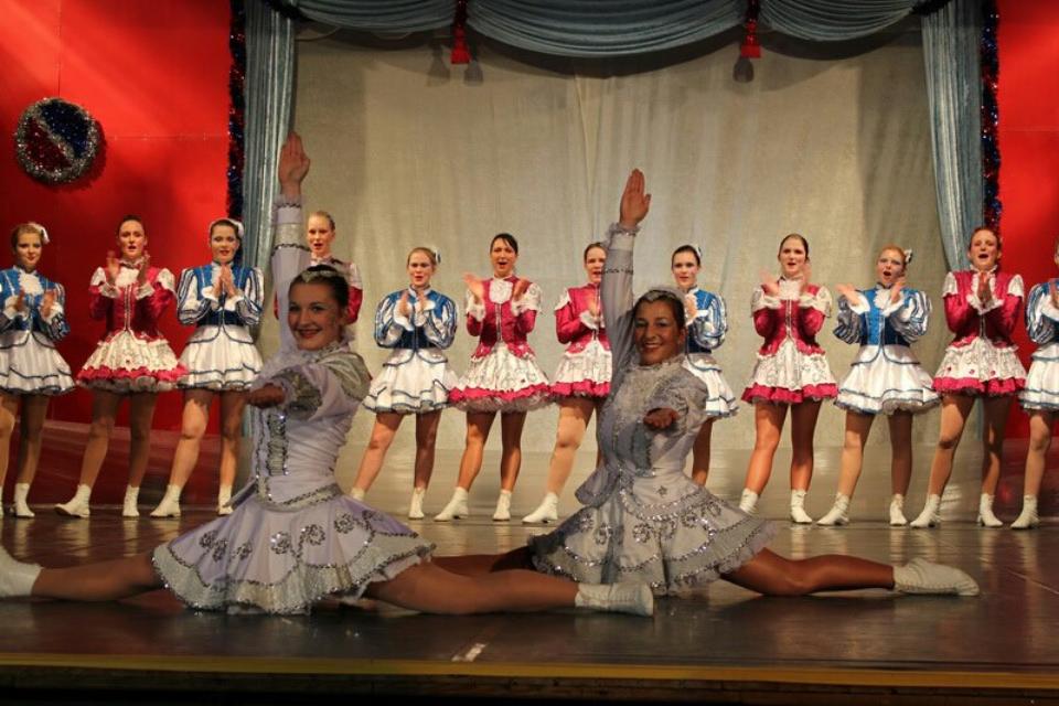 Tanzmariechen und Garde