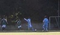 杉並戦開始2分MF服部の低弾道の先制ゴール