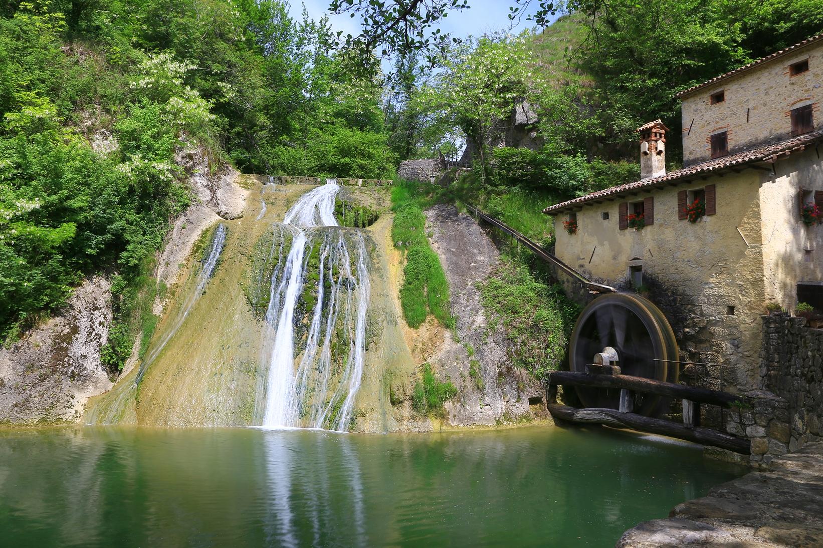 Im Prosecco-Gebiet: die Mulinetto de la Croda