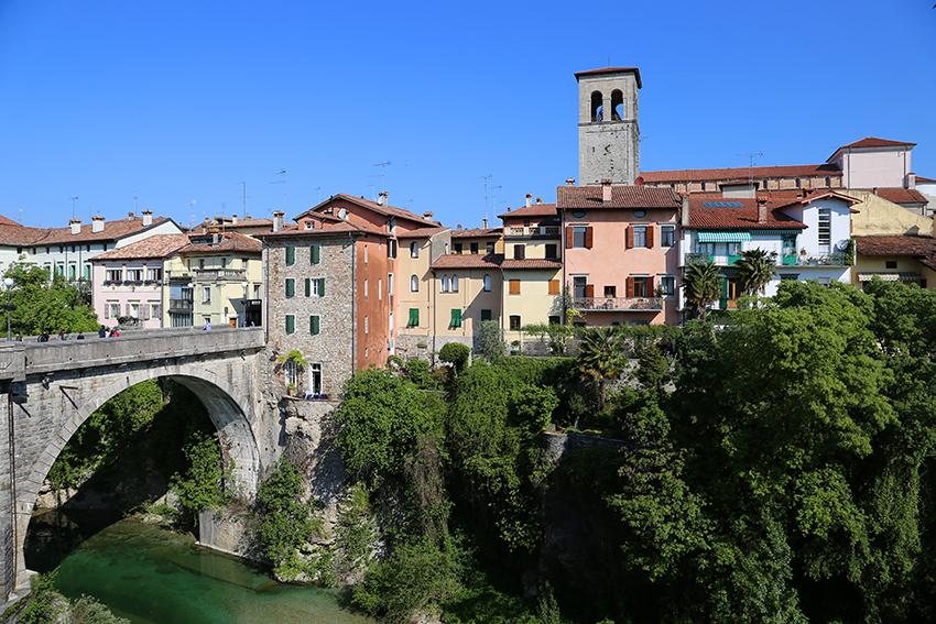 Cividale mit der Teufelbrücke und charmanter Altstadt