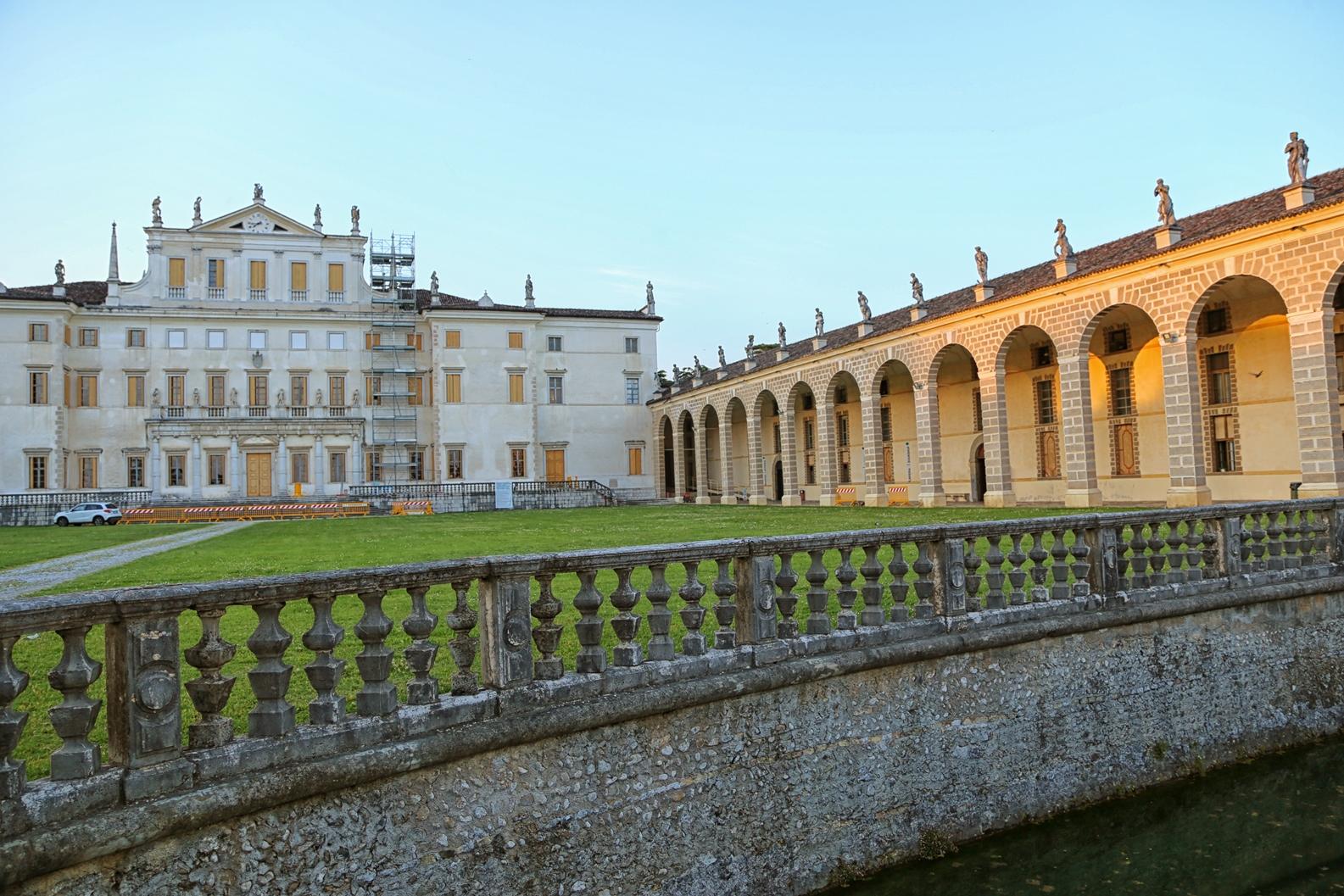 Imposant und weitläufig: Die Villa Manin