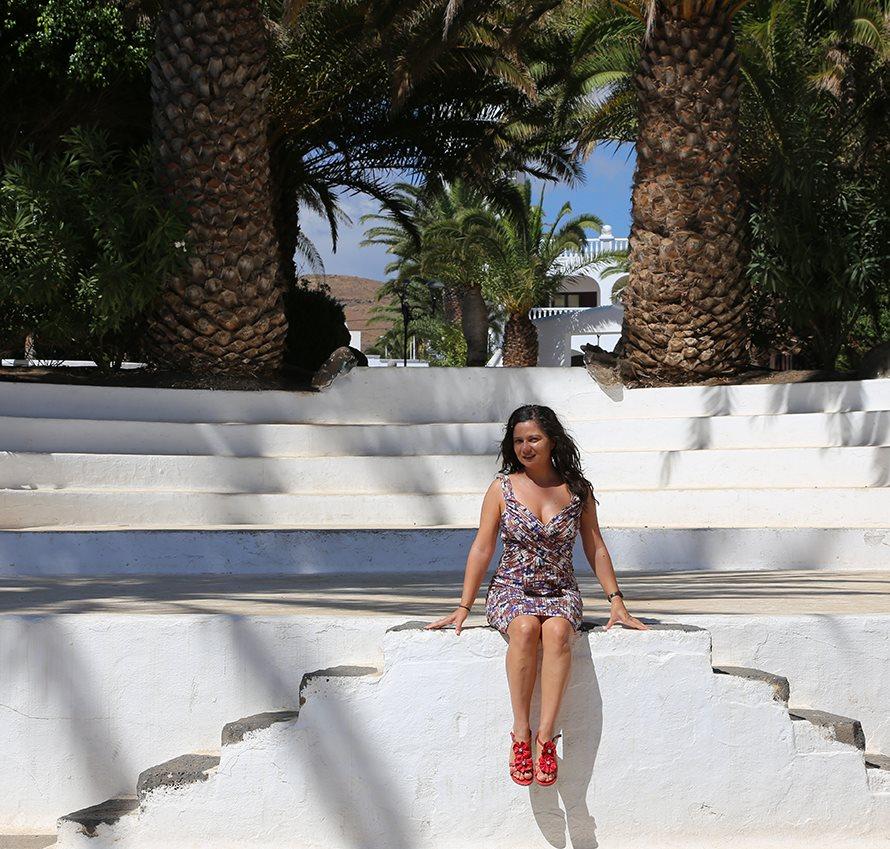 Heiße Temperaturen auf Lanzarote