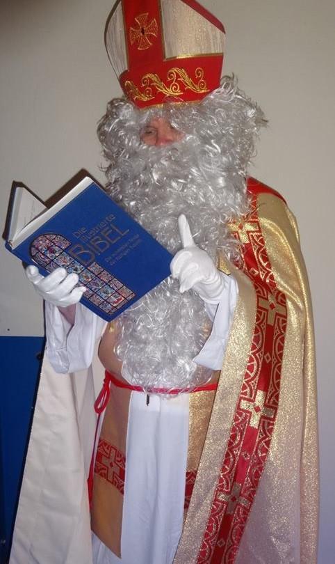 Die Verkündigung der Frohen Botschaft durch den Nikolaus
