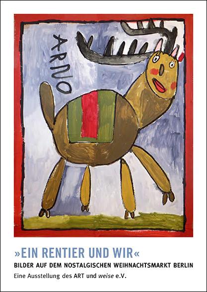 Eröfnnungen von Ausstellungen mit dem Berliner Weihnachtsmann