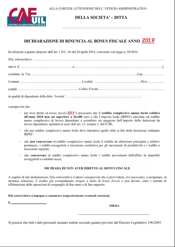 MODELLO CEDOLARE SECCA SCARICA