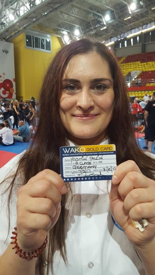 Unsere frisch gebackene A-Lizenz Kampfrichterin