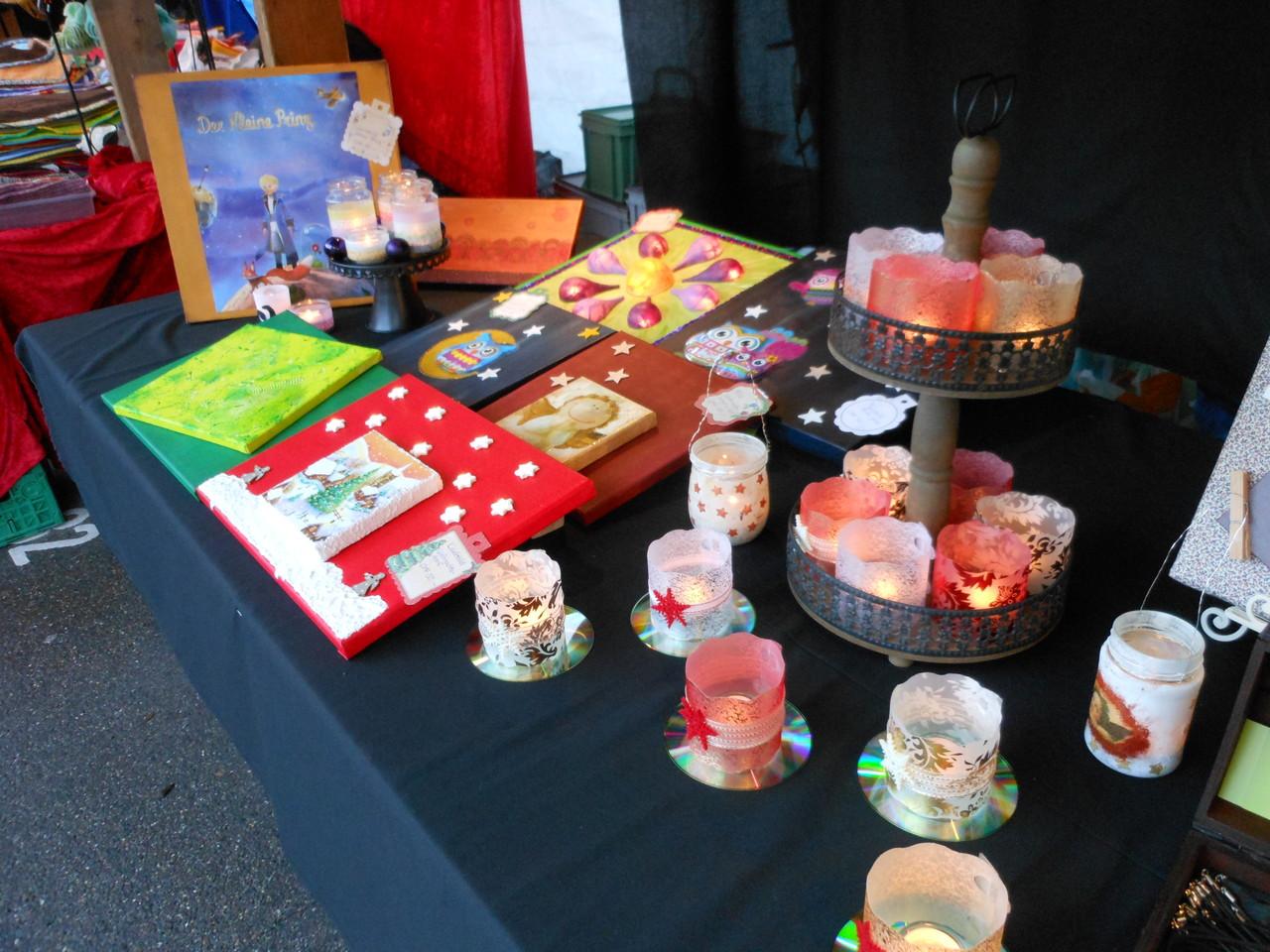 Speziell für diesen Markt gibt es besonders weihnachtliche Sujets.