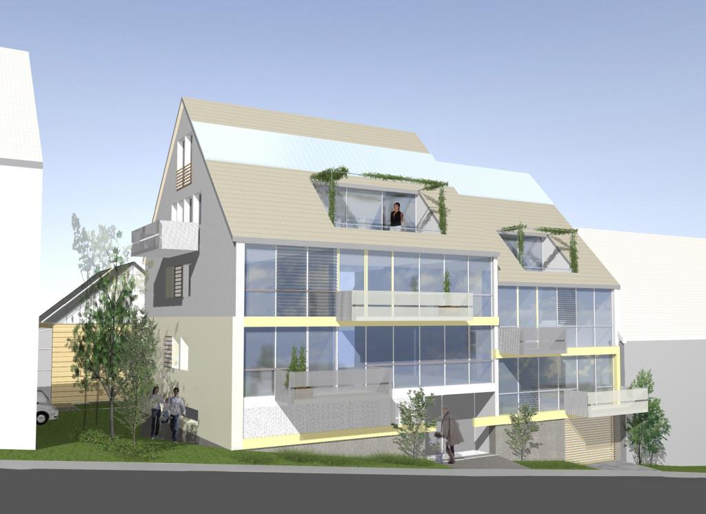 wohnbau architekt stuttgart sillenbuch. Black Bedroom Furniture Sets. Home Design Ideas
