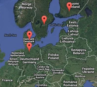 Inter-Nordic 2015. Image: google.map
